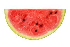 Skiva av vattenmelon Arkivfoton