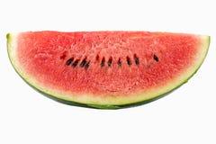 Skiva av vattenmelon Arkivfoto