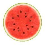 Skiva av vattenmelon royaltyfria bilder