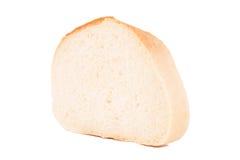 Skiva av vitt bröd Royaltyfri Foto