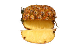 skiva för 3 ananas Arkivfoto