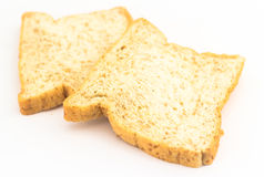 Skiva för brunt bröd  Arkivfoton