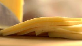 skiva för ost arkivfilmer