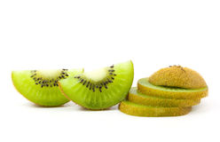 Skiva Kiwi Fruit Arkivfoto
