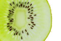 Skiva Kiwi Fruit royaltyfria foton