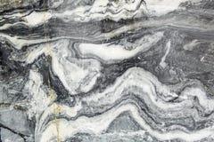Skiva marmorn Yttersida av marmorn vaggar Royaltyfri Fotografi