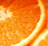 Skivad apelsin Fotografering för Bildbyråer