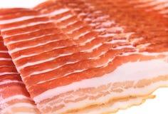 skivad bacon Royaltyfri Bild