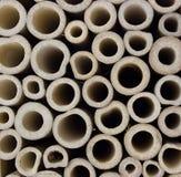 Skivad bambu Fotografering för Bildbyråer