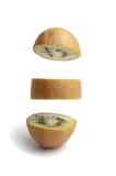 skivad kiwi arkivbild