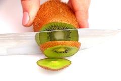 Skivad kiwi på hjul Royaltyfri Fotografi