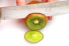 Skivad kiwi på hjul Fotografering för Bildbyråer