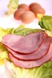 skivad meat Arkivfoto