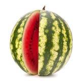 Skivad mogen vattenmelon Royaltyfria Bilder