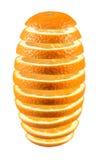 skivad ny orange Royaltyfria Foton