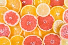 skivad orange Royaltyfria Foton