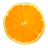 skivad orange Arkivbild