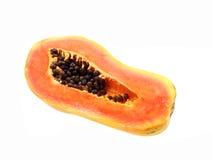 Skivad papaya Arkivfoton