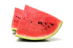 Skivad vattenmelon Arkivbilder