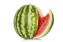 Skivad vattenmelon Royaltyfri Bild
