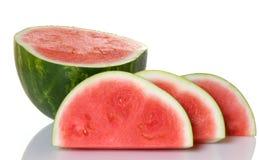 skivad vattenmelon Royaltyfri Foto