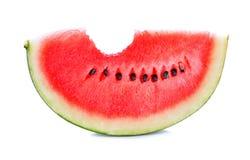 Skivad vattenmelon Royaltyfria Foton