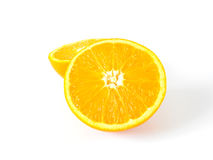 skivade apelsiner Arkivbilder