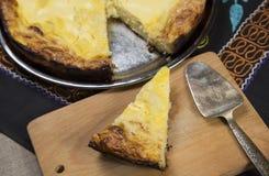 Skivade pajer av ost och Arkivfoton
