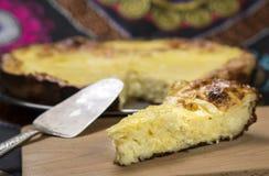 Skivade pajer av ost och Arkivfoto