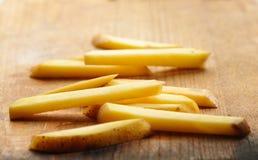 Skivade potatisar royaltyfria foton