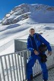 Skivakantie in Oostenrijk Royalty-vrije Stock Foto