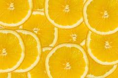 skivar orange fotografi för abstrakt frukt för bakgrundscitrusclose upp studion Arkivbild