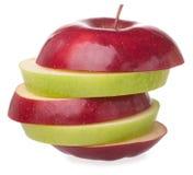 skivat äpple Royaltyfri Fotografi