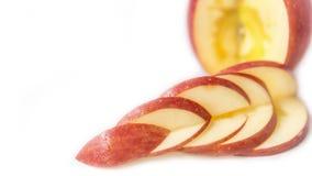 Skivat av äpplet Fotografering för Bildbyråer