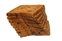 skivat bröd Fotografering för Bildbyråer