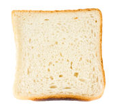 Skivat bröd Arkivbild