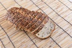 skivat bröd Arkivfoto