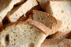 skivat gott för bröd royaltyfria bilder