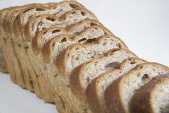 Skivat släntra av bröd Royaltyfria Foton