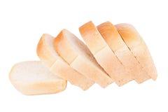 Skivat vitt bröd Royaltyfri Bild