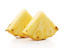 Skivor av ananas Fotografering för Bildbyråer
