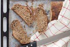 Skivor av bröd Fotografering för Bildbyråer