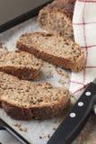 Skivor av bröd Arkivfoto
