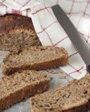 Skivor av bröd Arkivbilder