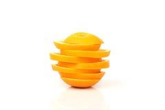 Skivor av orangen Royaltyfri Bild