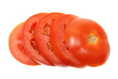 Skivor av tomaten Royaltyfri Bild