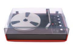 Skivtallrik ljudsignal, för playback av vinylrekord, från 70-tal av det sista århundradet Arkivbilder