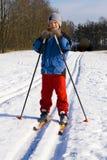 Skiweg Lizenzfreies Stockbild