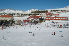 Skizeit Lizenzfreies Stockfoto