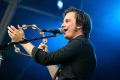 Skizophonic (Band) führt an FLUNKEREI Festival durch Stockfotos